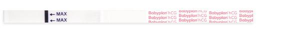 Babyplan graviditetstest strimmel